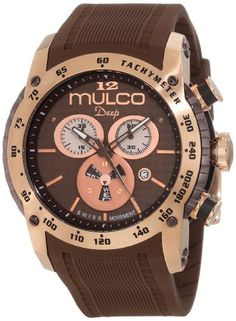 Men's Wrist Watches - Mulco Unisex MW129878033 Deep Scale Chronograph Swiss Movement Watch *** Visit the image link more details. (This is an Amazon affiliate link)
