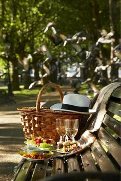 As easy as finding your favorite park bench.