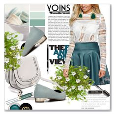 """""""Yoins"""" by astromeria ❤ liked on Polyvore featuring Gucci, Urban Decay, Bobbi Brown Cosmetics, yoins and loveyoins"""