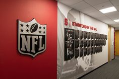 Stanford Football Offices and Locker Room   @Advent
