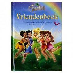 Deltas Vriendenboek Tinkerbell (Kinderboeken)