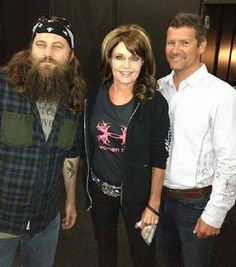 Sarah Palin loves Duck Dynasty Phil Robertson, Robertson Family, Duck Calls, Duck Commander, Duck Dynasty, Sarah Palin, Quack Quack, Sarah Todd, Bayou Country