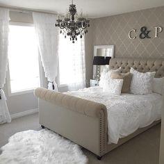 Antoinette Łóżko tapicerowane szare, białe 140*200, 160*200, 180*200