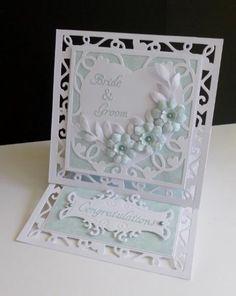 FS439 ~ Eau de Nil Wedding by sistersandie - Cards and Paper Crafts at Splitcoaststampers