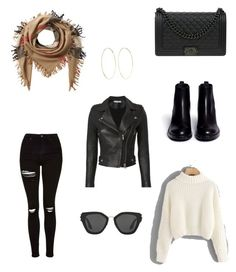 """Untitled #12"" by dededeea1998 on Polyvore featuring Topshop, Ash, Burberry, Chanel, IRO, Prada and Magda Butrym"