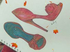 Shoe illustration by abby smedley