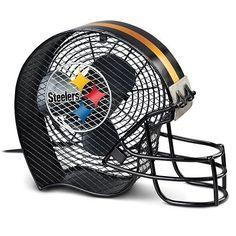 NFL Pittsburgh Steelers #1 Fan Helmet Electric Fan by The Bradford Exchange by Bradford Exchange, http://www.amazon.com/dp/B0091LHV2O/ref=cm_sw_r_pi_dp_Z71prb1QK5HZB