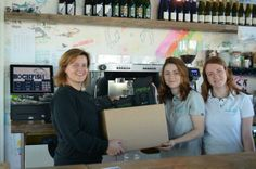 First delivery of our yummy coffee to @rockfishplym @RockFishDevon :) Exciting times ahead!