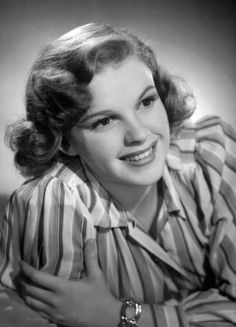Judy Garland in a publicity photo for Life Begins For Andy Hardy (1941)