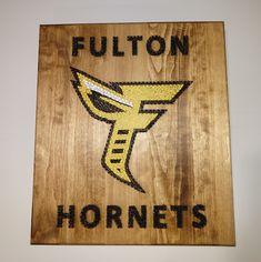 Newer Fulton Hornets Logo