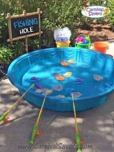 Wonderful Photo 34 Trendy Camping Birthday Party Games Ideas Your little one . Wonderful Photo 34 Trendy Camping Birthday Party Games Ideas Your little one can be 1 right now Kids Carnival, Carnival Birthday Parties, Circus Birthday, Birthday Party Themes, Spring Carnival, Carnival Party Games, Carnival Ideas, Fishing Party Games, Backyard Carnival