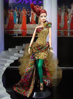 Miss Kazakhstan Barbie Doll 2012