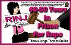 Thank You, Judge Sullins