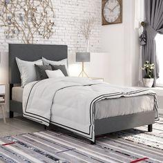 $99 Wayfair Bed (Varick Gallery Pulliam Upholstered Panel Bed)