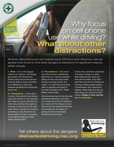 mobile phone and national occupant protection The new data include statistics from the 2012 distracted driving attitudes and  behaviors survey and the 2011 national occupant protection.