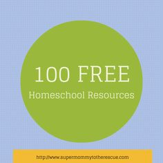 Today I am sharing 100 free resources for your homeschool. Homeschooling doesn't have to be expensive. I know that curriculum can be expensive, especially when you live pay check to pay check. I know I am there at times. I buy everything I need at tax time. Sometimes I buy things that end up not … … Continue reading →