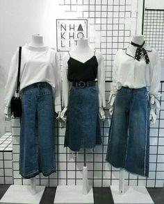 Really like korean fashion outfits 3023378077 Nerd Fashion, Korea Fashion, Cute Fashion, Asian Fashion, Look Fashion, Runway Fashion, Fashion Outfits, Womens Fashion, Ladies Fashion