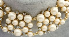 Morpheus Boutique  - White Pearls Crystal Gold Limited Edition Necklace , CA$81.02 (http://www.morpheusboutique.com/jewelry-watches/necklaces/white-pearls-crystal-gold-limited-edition-necklace/)