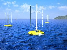 8.14.13 - Powering the Future: New turbine to capture energy from both wind and waves slated for testing - Video of wind/wave device that will be tested off off Japan this fall.