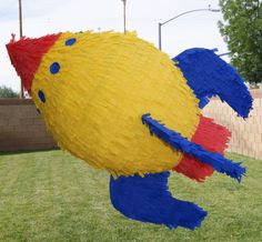SPACESHIP PINATA by NeverEndingCreation on Etsy, $55.00