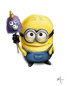 Minion 'Para tu. Papoy' by ~AiRainbowVeins on deviantART