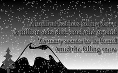 snow quotes and pictures | snow+quote Happy Snow Quote