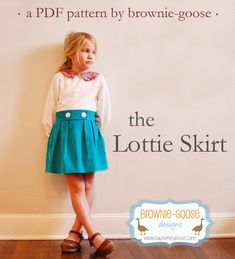 BG Originals Lottie Skirt pdf pattern by browniegoose on Etsy