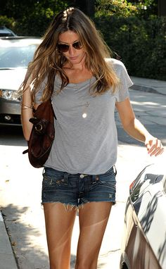 nobody does jean shorts better.