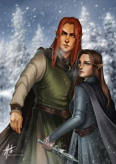 Lucien and Feyre from ACOTAR by Sarah J Maas for the Whimsify box Lucien and Feyre A Court Of Wings And Ruin, A Court Of Mist And Fury, Fanart, Feyre And Rhysand, Sarah J Maas Books, Throne Of Glass Series, Crescent City, Look At The Stars, Book Characters