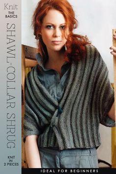 29ea9f6060719 Diary of a Creative Fanatic - Shawl Collar Shrug Knitting Pattern
