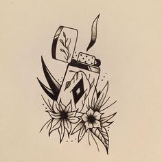 Mr. Zippo.   #zippo #lighter #nature #drawing #smoke #flowers #flower #coffee #inked #amazing #ink #fabercastell #micron #tattoo #paint #art #paper #fresh #new #available