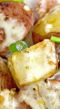 Kielbasa & Potatoes in Cheese Sauce
