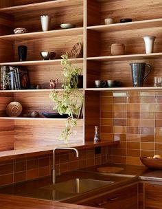 Kitchen Decor, Kitchen Design, 70s Kitchen, Victorian Cottage, Timber Cladding, Interior Decorating, Interior Design, The Design Files, Mid Century House