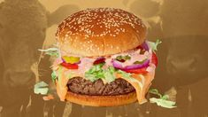 Comparing the plant-based Impossible Burger to beef. A new analysis finds that the environmental cost of raising cattle is very, very high. Raising Cattle, Plant Based Burgers, Impossible Burger, Food System, Vegan Animals, Carbon Footprint, Fitness Diet, Vegan Gluten Free, Vegetarian