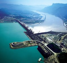 Three Gorges Dam, China, because all those documentaries about it's construction are so awesome.