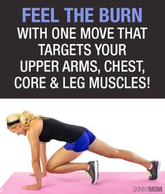 Blast calories with this toning fitness move!