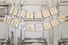 Wedding Banners rUSTIC Wedding sIGNS FUTURE by WineCountryBanners
