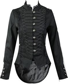 online shopping for Hearts Roses H&R Women's Steampunk Gothic Parade Long Tailcoat from top store. See new offer for Hearts Roses H&R Women's Steampunk Gothic Parade Long Tailcoat Steampunk Mode, Style Steampunk, Gothic Steampunk, Steampunk Clothing, Steampunk Fashion, Gothic Fashion, Steampunk Cosplay, Steampunk Accessories, Lolita Mode