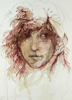 View Carne Griffiths's Artwork on Saatchi Art. Find art for sale at great prices from artists including Paintings, Photography, Sculpture, and Prints by Top Emerging Artists like Carne Griffiths. Watercolor Portraits, Watercolor Paintings, Art Vintage, A Level Art, Ap Art, Pastel, Fantasy, Online Art, Painting & Drawing