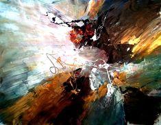 The beautiful universe, 2011, Dan Bunea, living abstract paintings
