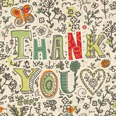 Nature Lovers Thank You Card