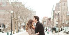Boston Public Library Engagement Shoot from Deborah Zoe Photography