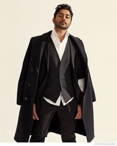 Manish Dayal Dons Dapper Tailored Styles for Interview Magazine image Manish Dayal 2014 Interview Photos 004