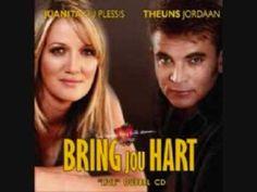 ▶ Afrikaans - Theuns Jordaan & Juanita Du Plessis - Bring Jou Hart - YouTube