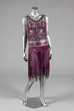 Evening dress, ca 1926