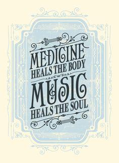robynsmorgue:  (via Status Serigraph — Music Heals the Soul Art Print)