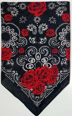 Badass Wallpaper Iphone, Bandana Design, Sugar Skull Girl, Biker Chic, Hook And Loop Fastener, Hot Nails, Neck Wrap, Paisley Print, Head Wraps