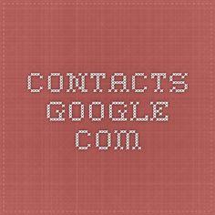 contacts.google.com