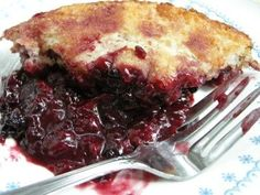 Old Fashioned (AND SUPER EASY) Berry Cobbler by Southernplate.com  Thank you Christy Jordan
