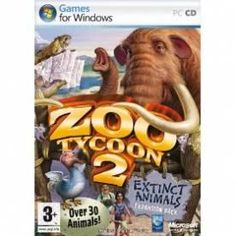 Zoo Tycoon 2 Extinct Animals Expansion Pack Game PC | http://gamesactions.com shares #new #latest #videogames #games for #pc #psp #ps3 #wii #xbox #nintendo #3ds